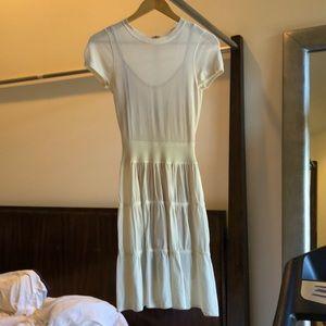 A.L.C white knit dress size xs